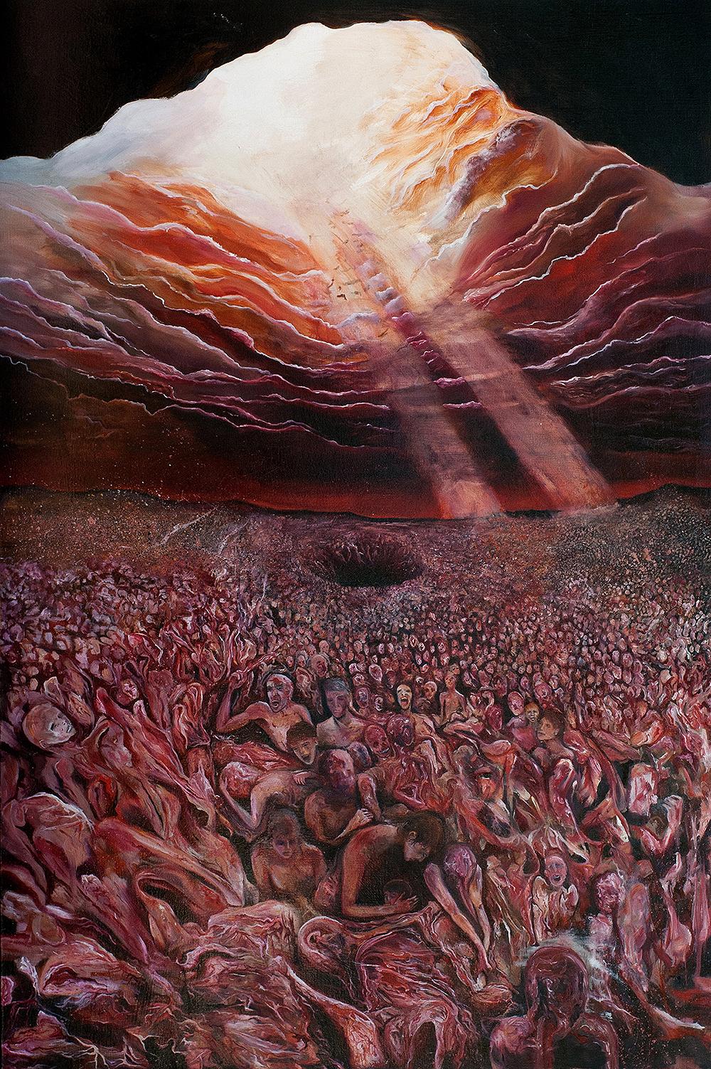 """Autolysis   2011  Oil on canvas. 60 x 40"""""""