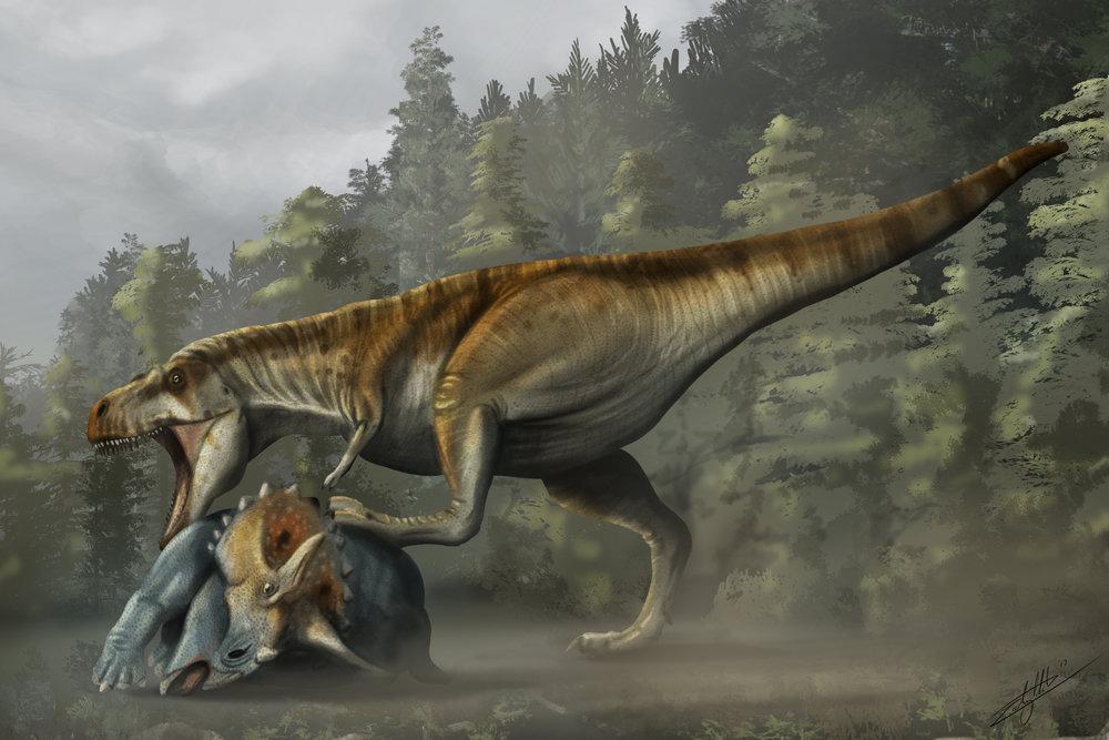 TyrannosaurVTric Final.jpg
