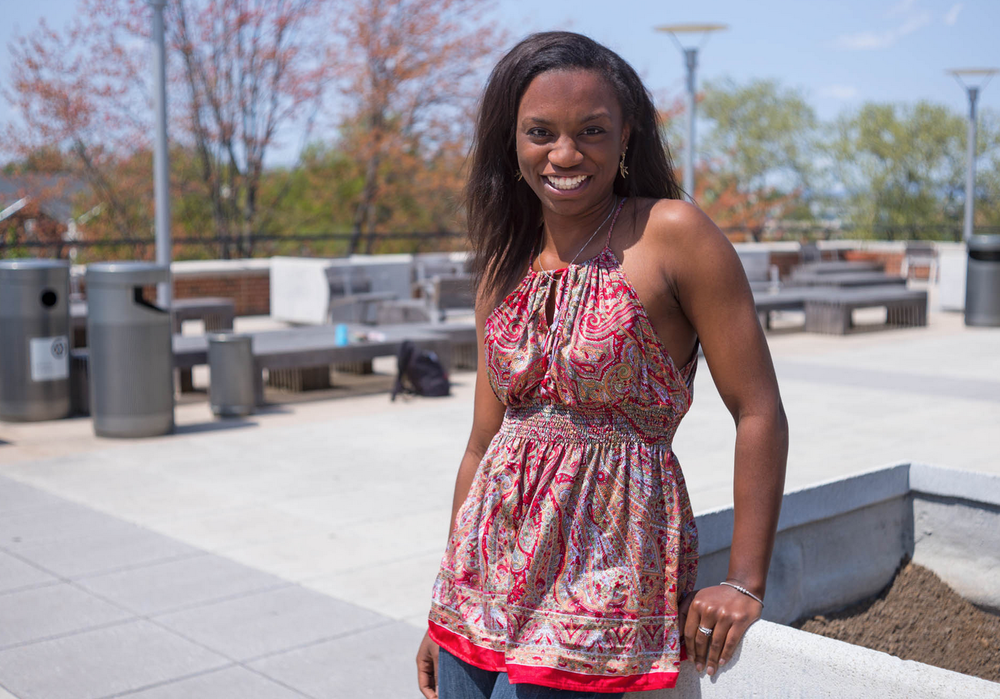 Shantell Bingham, Class of 2015 and Head Program Director of Bridging the Gap