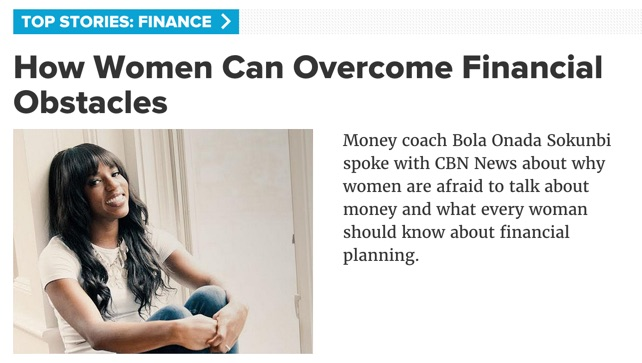 Clever Girl Finance on CBN News