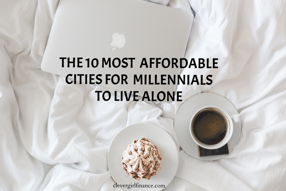 Top cities for millennials to live alone