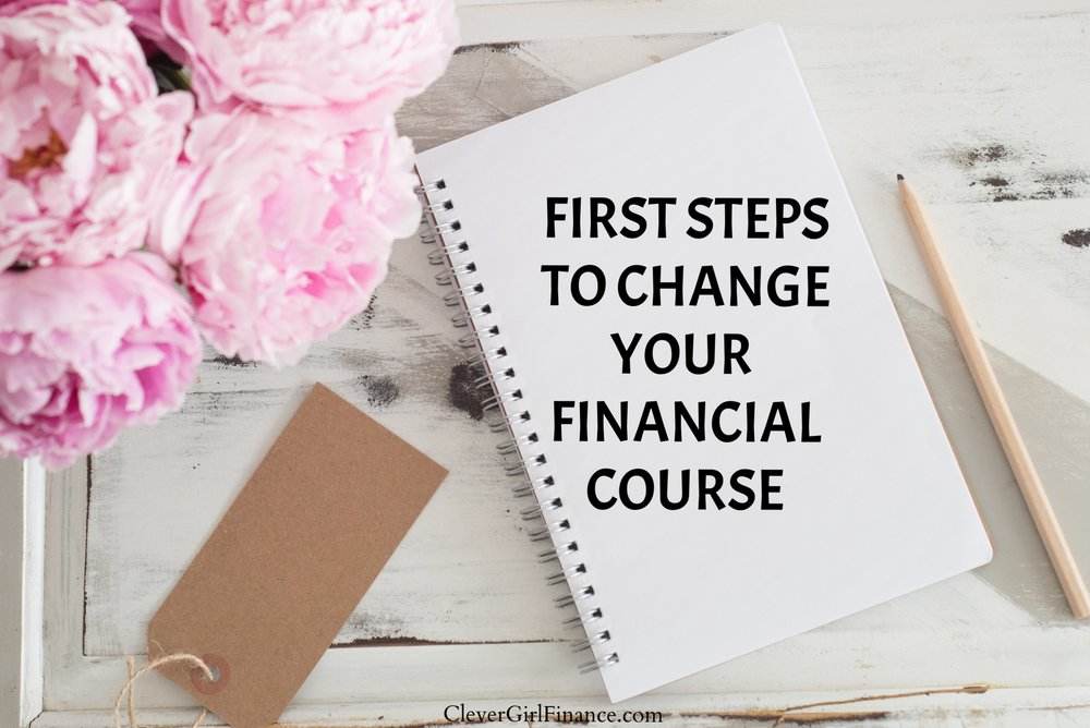 Change your financial course