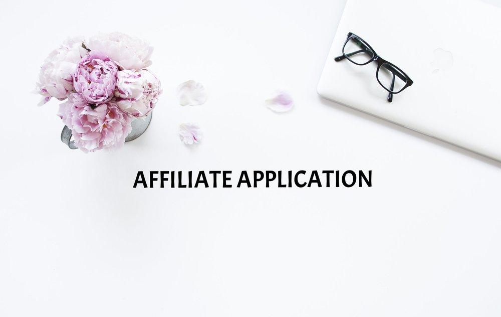 affiliate application