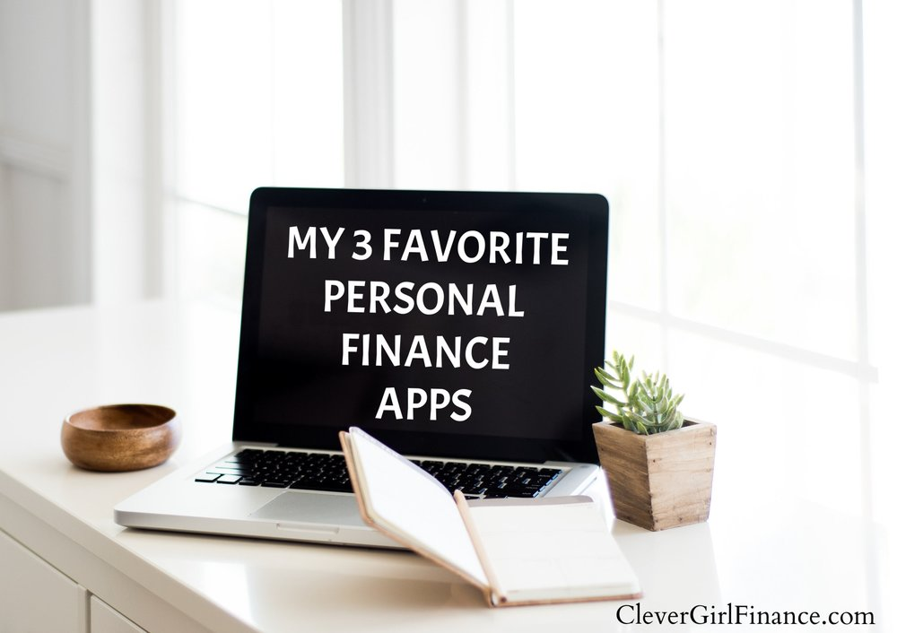 My 3 favorite personal finance apps
