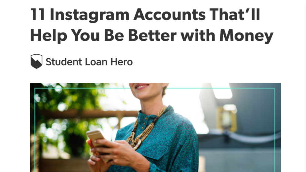 Top Finance Instagram Accounts