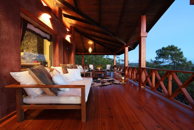 Terrace Villa Cielo Alterra Jarabacoa