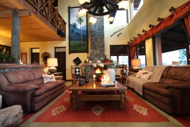 Living Room Villa Cielo Alterra Jarabacoa