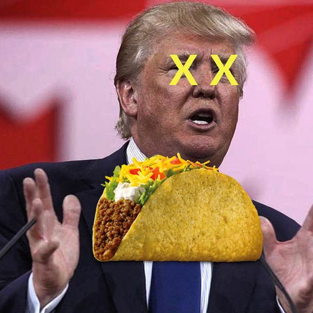 This 💩 guy doesn't deserve the glory of TACOS, but you do! Tacos Oscar tonight and we're screening the debate, hopefully Hillary cuts his face off. We will definitely have drink specials. Debate @ 6, happy hour 5-7. #tacososcar #reallyamerica? #tacosforprez #makeamericamexicoagain