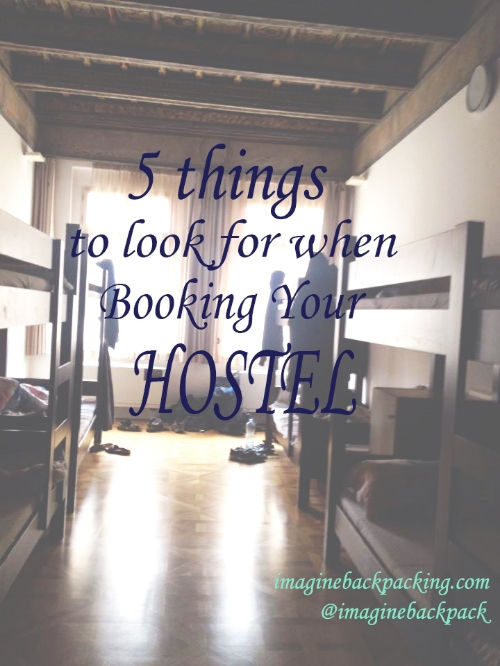 "5 things to look for when booking your hotel alt textHostels, scary right? I mean, there's a horror movie named ""Hostel"" so, they must be. No, we disagree. We love hostels. In this review find out what to look for and be aware of when staying in budget accommodations."