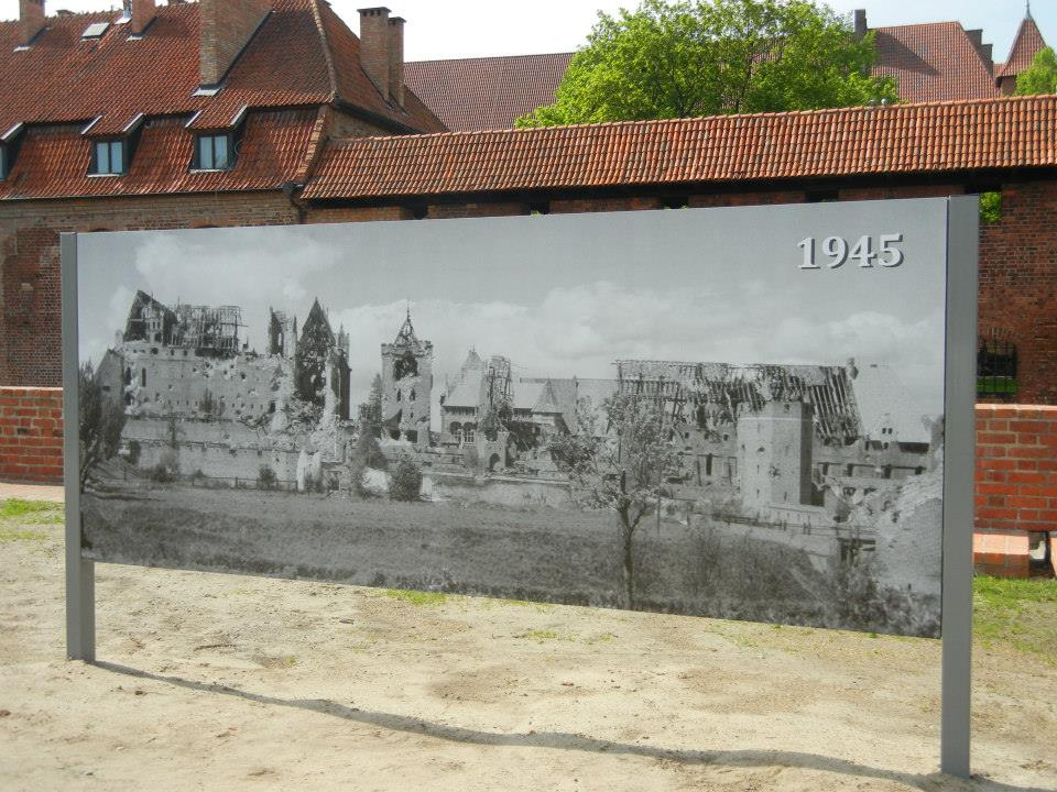 Bombing of Malbork Castle