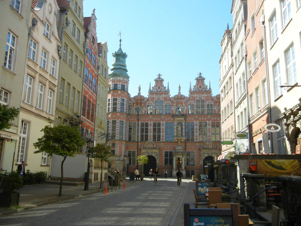 Gdansk Main Town Architecture