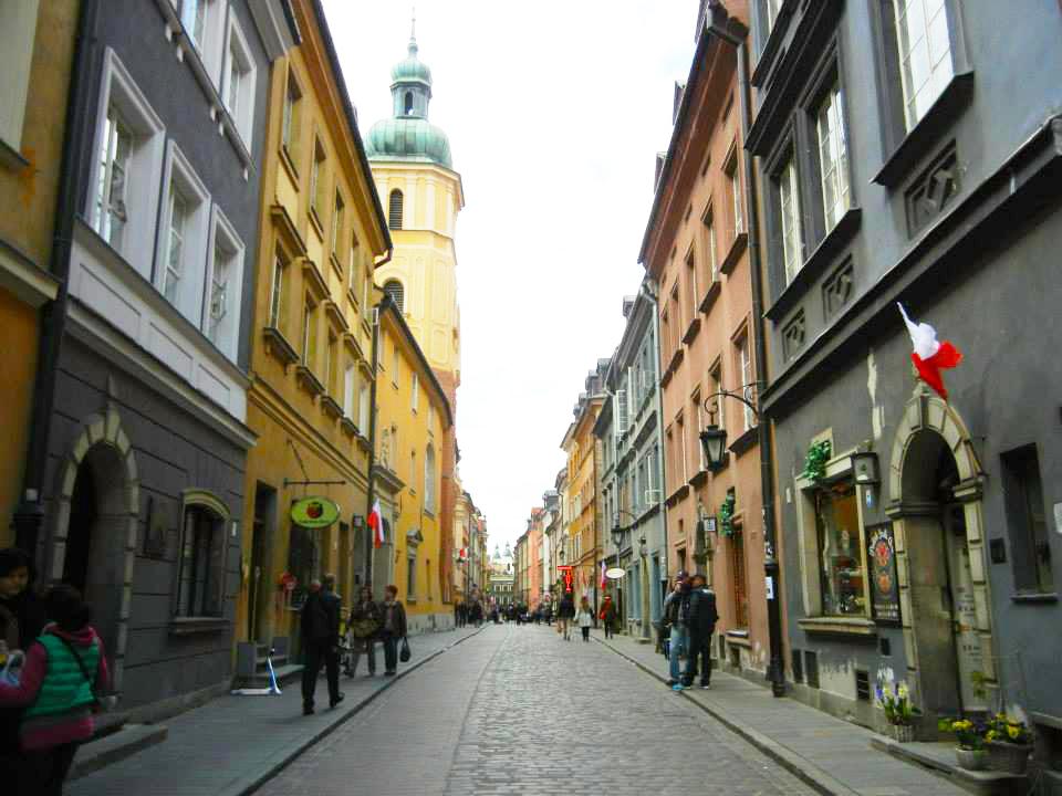 Visiting Warsaw
