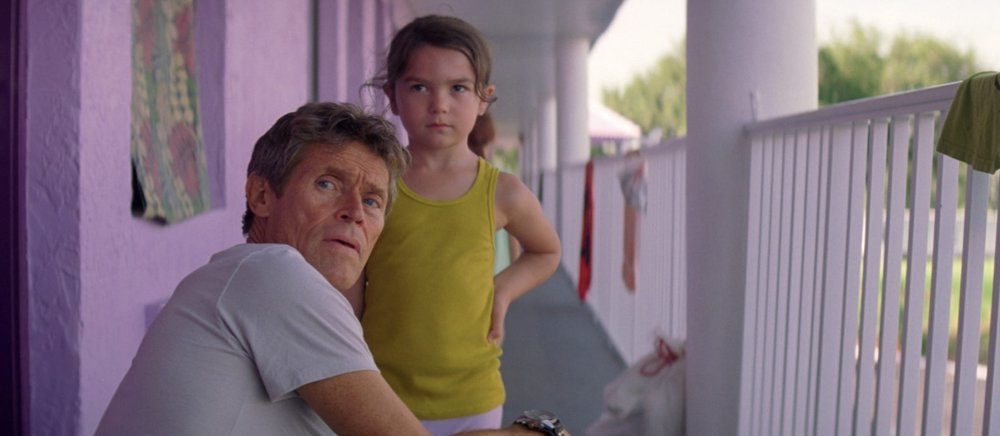 Willem Dafoe & Brooklynn Prince in  The Florida Project  | A24