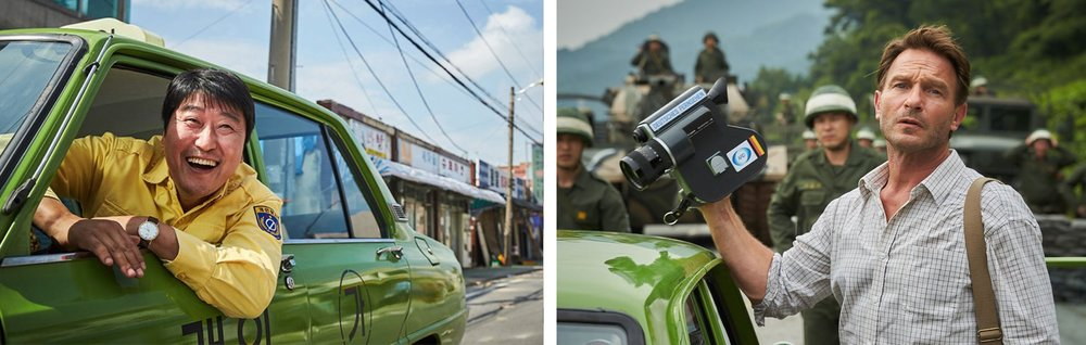 Song Kang Ho & Thomas Kretschmann in  A Taxi Driver  | Hollywood Reporter/HanCinema