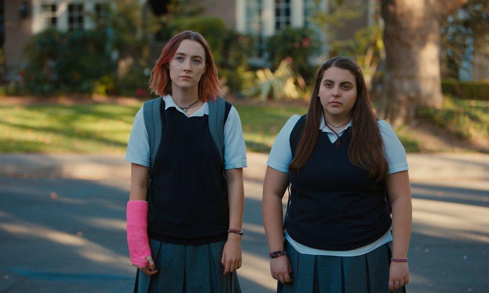 Saoirse Ronan & Beanie Feldstein in  Lady Bird  |Moviehole