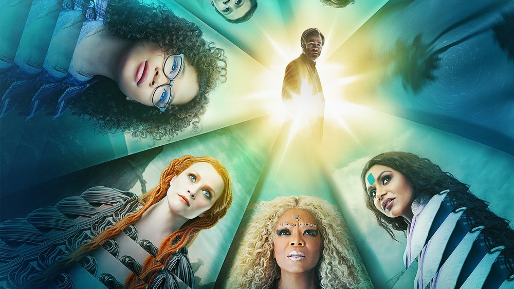 Storm Reid, Reese Witherspoon, Oprah Winfrey, Mindy Kaling, & Chris Pine in  A Wrinkle in Time  | Disney Movies