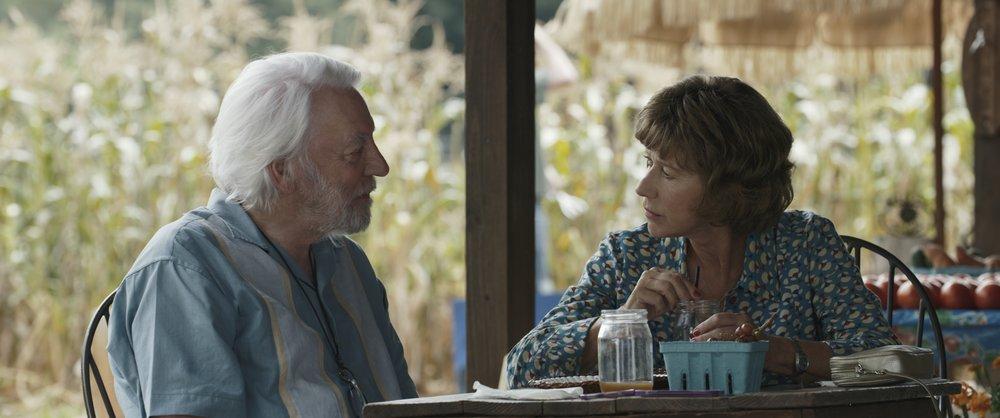 Donald Sutherland & Helen Mirren in  The Leisure Seeker  |Wikipedia