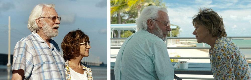 Donald Sutherland & Helen Mirren in  The Leisure Seeker  |Rolling Stones/Springs Advertiser