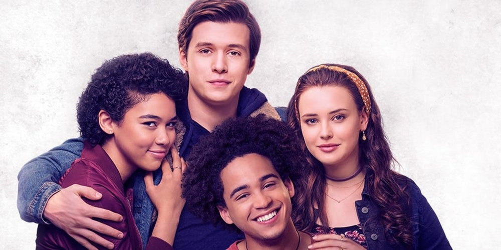 Alexandra Shipp, Nick Robinson, Jorge Lendeborg Jr., & Katherine Langford in  Love, Simon  | Screen Rant