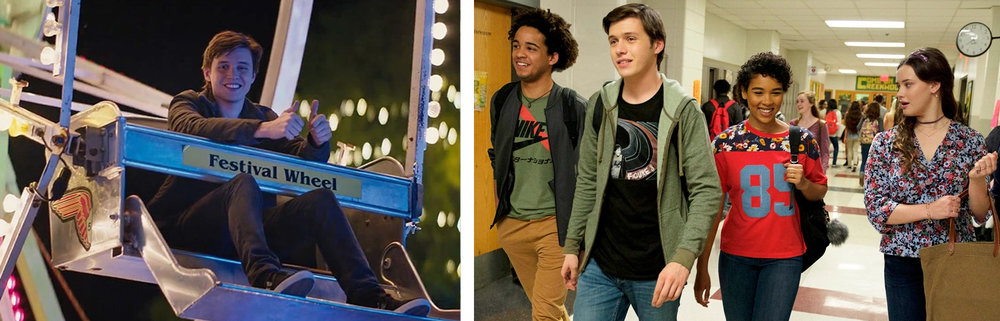 Nick Robinson, Jorge Lendeborg Jr., Alexandra Shipp,& Katherine Langford in  Love, Simon  |Coming Soon/Variety