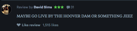 And another perfect and succinct  review  for  A Quiet Place
