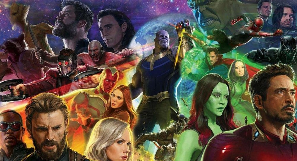 The entire damn Marvel cast in  Avengers: Infinity War  | GameSpot