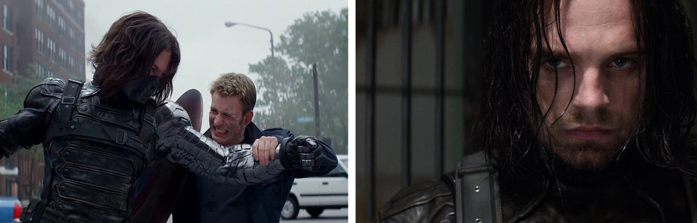 Sebastian Stan & Chris Evans in  Captain America 2: The Winter Soldier  |Film School Rejects/International Business Times