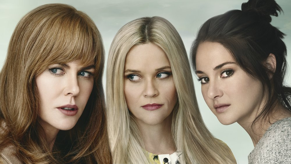 Nicole Kidman, Reese Witherspoon, & Shailene Woodley in  Big Little Lies  | HBO