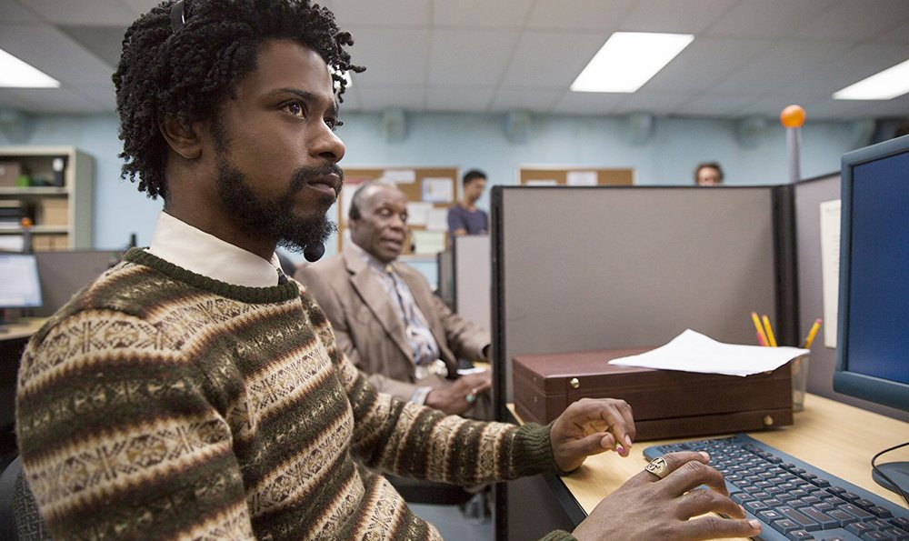 Lakeith Stanfield and Danny Glover in  Sorry To Bother You  | Journal-Topics