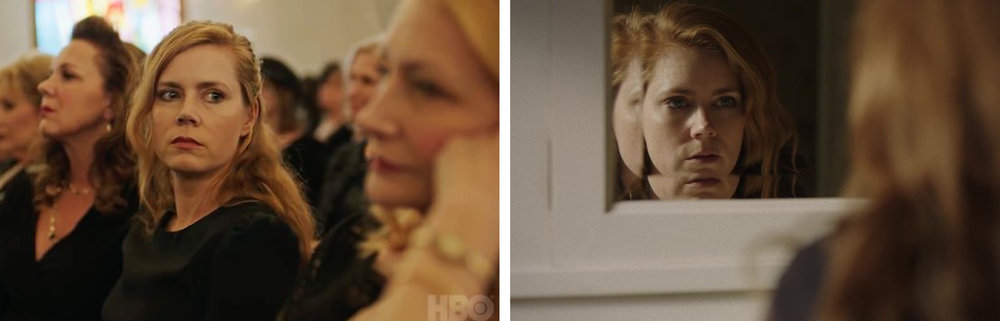 Eliza Scanlen, Amy Adams, and Patricia Clarkson in  Sharp Objects  | HBO