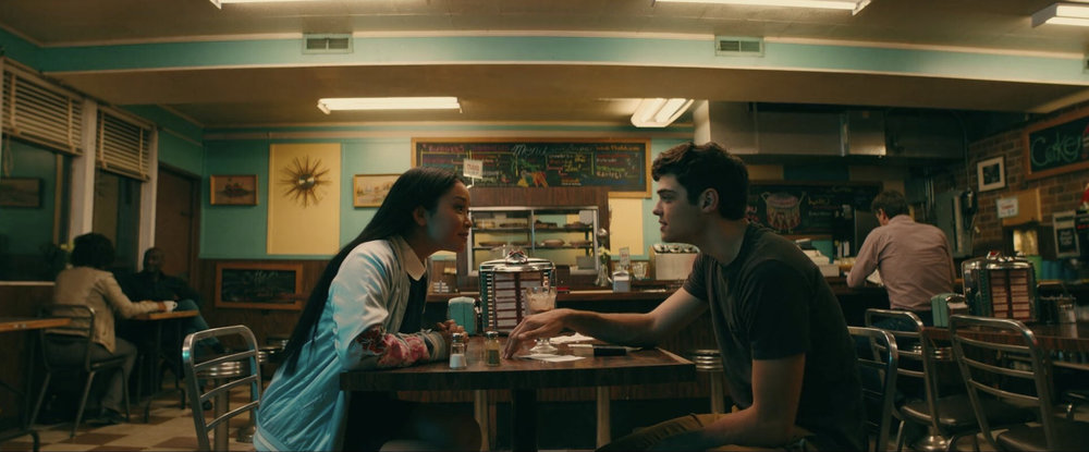 Lana Condor and Noah Centineo in  To All The Boys I've Loved Before  | Twitter