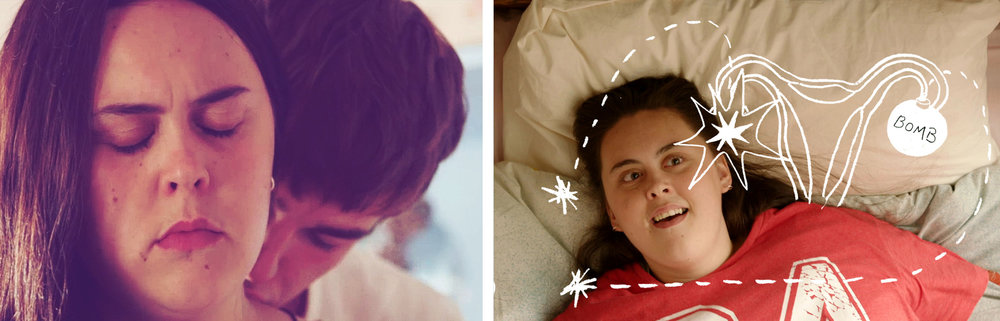Sharon Rooney and Nico Mirallegro in  My Mad Fat Diary  | Fanpop, Tumblr