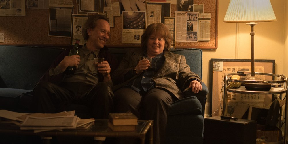 Melissa McCarthy and Richard E. Grant in  Can You Ever Forgive Me?  | Fox Searchlight
