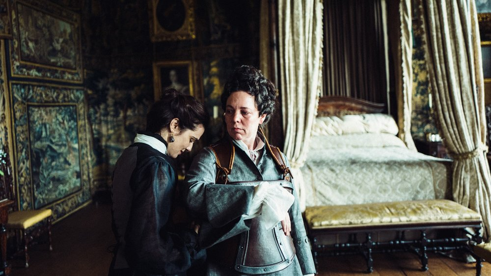 Rachel Weisz and Olivia Colman in  The Favourite  | LA Times