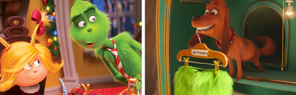 Cindy Lou Who, Grinch, Max in  The Grinch  | Hollywood Reporter, Wikia