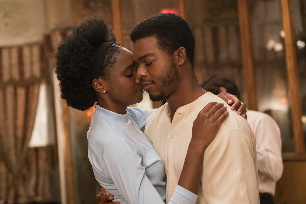 KiKi Layne and Stephan James in  If Beale Street Could Talk  | Moviefone