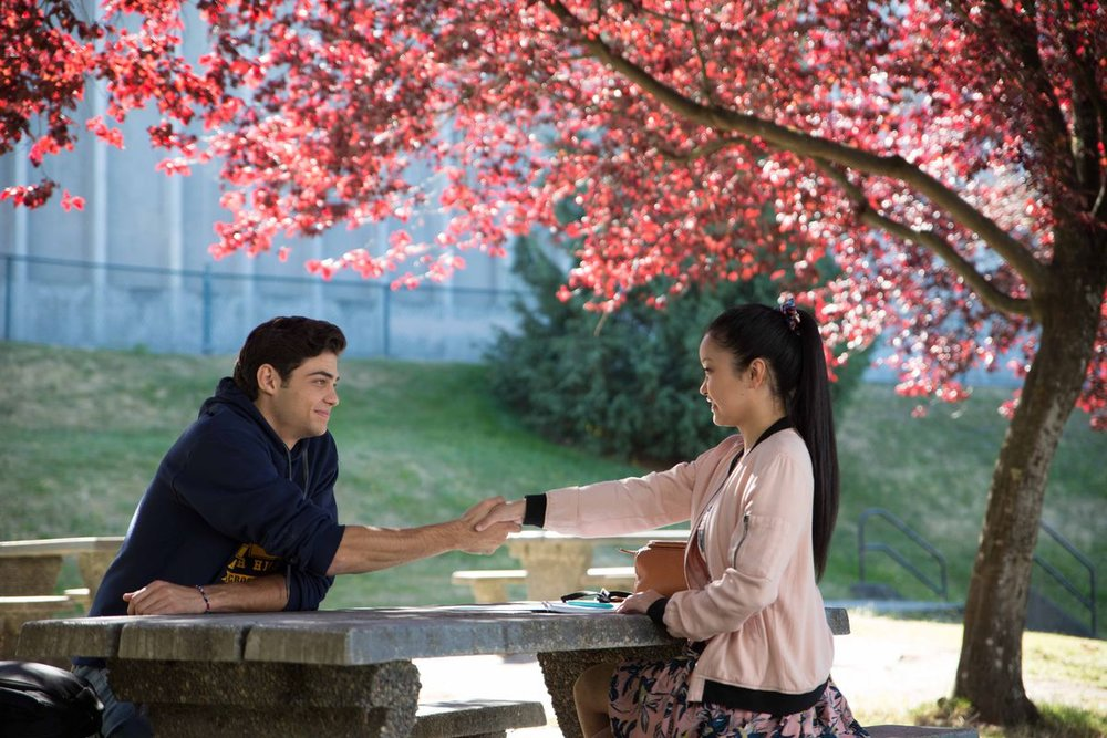 Noah Centineo and Lana Condor in  To All the Boys I've Loved Before |  Vanity Fair