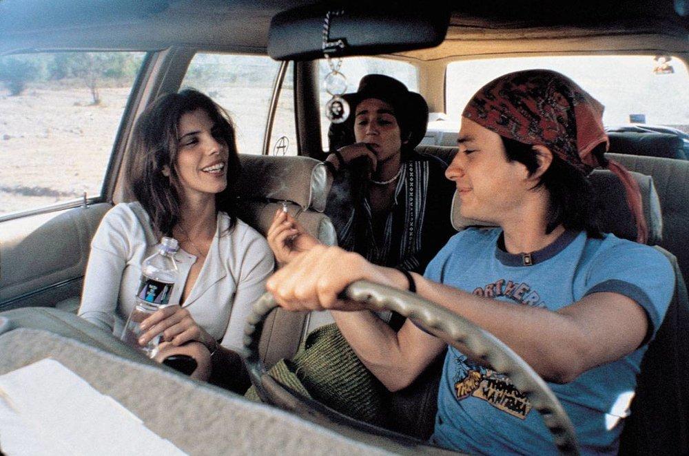 Diego Luna, Maribel Verdú, & Gael García Bernal in  Y Tu Mamá También  | The Austin Chronicle