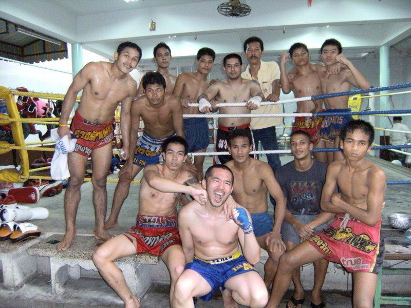Me at Chuwattana gym in 2008.