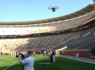 stadium-drone