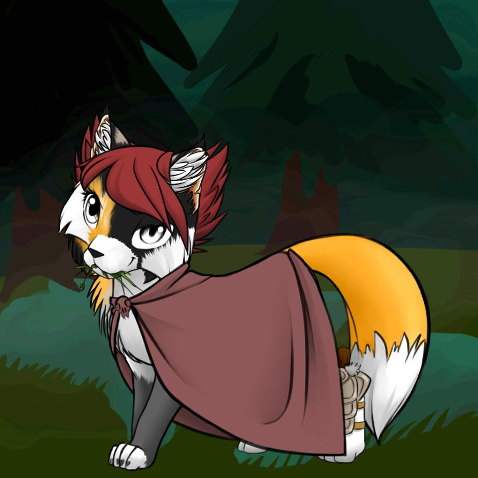 Gwen as a Cat