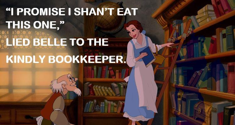 Belle the liar.JPG