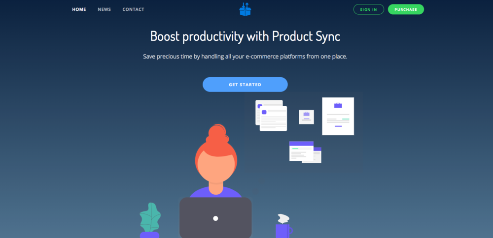 ProductSync - Running multiple shops over a number of platforms is a great way to maximise profits. Its also a great way to drive yourself a little bit crazy doing the same thing over and over and over. With Productsync you're able to manage multiple different e-commerce websites all from your WooCommerce dashboard. Every time you change something in WooCommerce ProductSync seamlessly syncs your products. No need to keep uploading the same images over and over again. No need to keep changing descriptions. It even manages stock levels so you know exactly whats happening across all your stores!