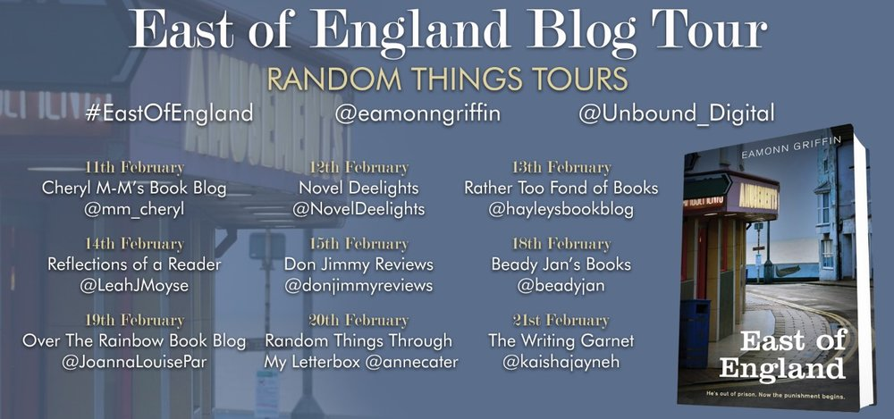 East of England blog tour details