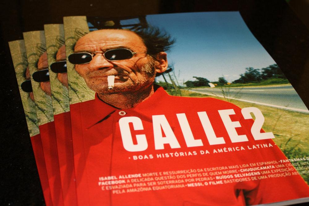 Versão impressa da Calle2 é um dos prêmios do crowdfounding