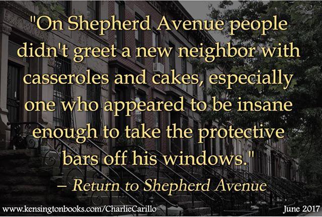 "Welcome to the neighbourhood ""Return To Shepherd Avenue"" style."
