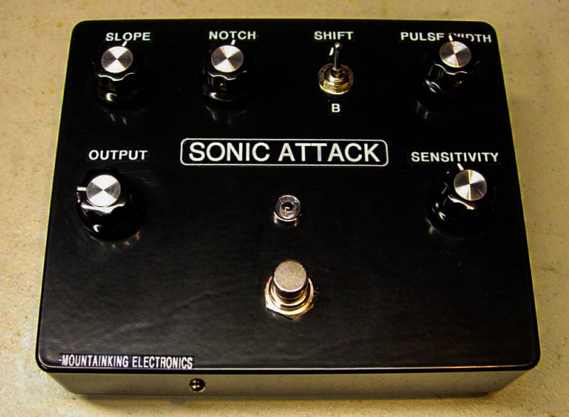 SONIC ATTACK protoype. Super synthy bass fuzz. Only 2 made.