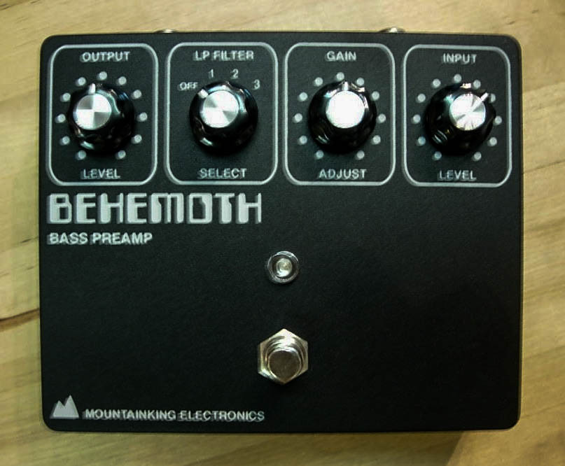 Early BEHEMOTH v1 with silkscreened graphics.
