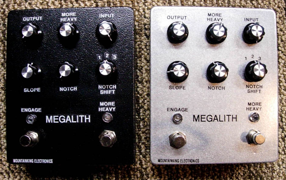 "MEGALITH #1 and #2. Built for Scott ""Wino"" Weinrich (Saint Vitus/Obsessed) and Scott Kelly (Neurosis) ."