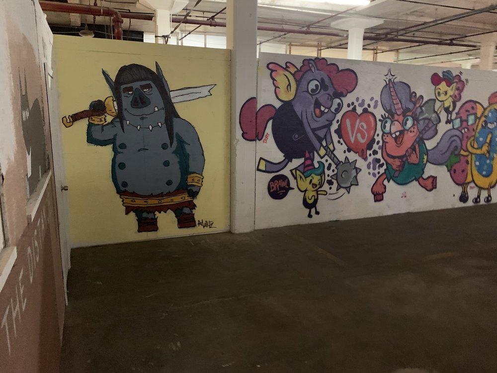 ARTIST MURAL WALLS